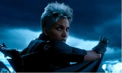 Watch this storm GIF on Gfycat. Discover more black panther, blink, edit, emma frost, gif set, marvel, mutants, ororo munroe, phoenix, quote, rogue, shadowcat, silver fox, storm, x-men, xmen, yukio GIFs on Gfycat