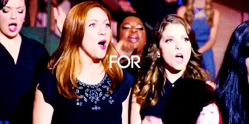 Watch anna kendrick party GIF on Gfycat. Discover more anna kendrick, bechloe, brittany snow, gifs;mine, teen choice awards 2015 GIFs on Gfycat