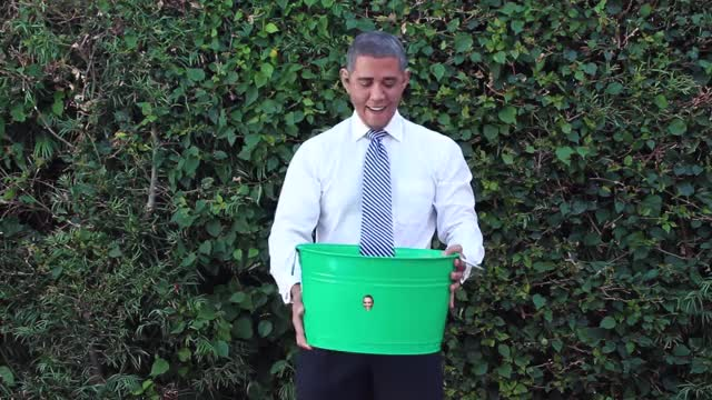 Watch and share President Obama Accepts The ALS Ice Bucket Challenge GIFs on Gfycat
