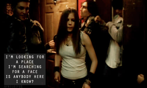 avril lavigne, feel, gif, music, old avril, song, videoclip GIFs