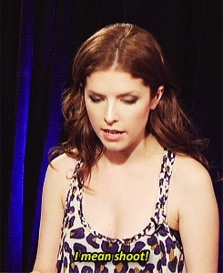 Anna Kendrick, oops, Accidental Curse Word! GIFs