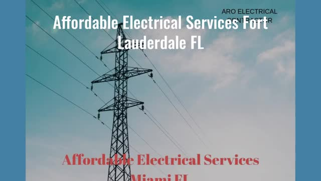 Watch and share Affordable Electrical Services In Fort Lauderdale FL GIFs by Scott Danny on Gfycat