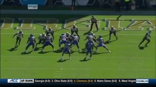 Watch and share Daniel Jones (Duke QB) Vs. Georgia Tech (2018) GIFs on Gfycat