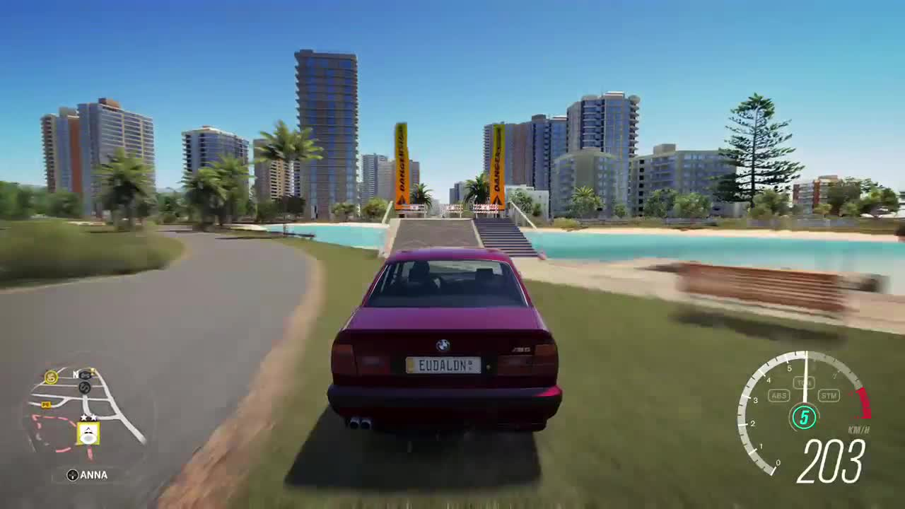 bmw m5, car, forza, forza horizon 3, forza hotrizon, horizon, jump, m5, rewind, stunt, Forza Horizon 3 Rewind option GIFs