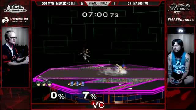 Paragon LA - C9 | Mango (Falco) Vs. COG MVG Mew2King (Sheik, Marth) SSBM Grand Finals - Smash Melee