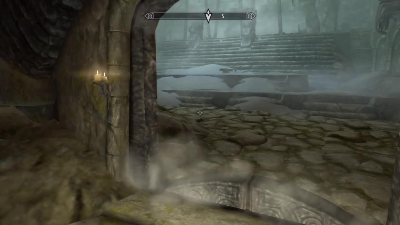 archery, difficulty, dragon, elders, exploit, guild, mage, main, master, on, quest, rising, scroll, shout, silence, skyrim, speaking, thieves, walkthrough, with, Skyrim: Dragonborn vs Iron Arrow GIFs