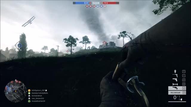 Watch Mayday mayday...!! GIF by @h3llsp4wn on Gfycat. Discover more battlefield, battlefield_one, fail GIFs on Gfycat