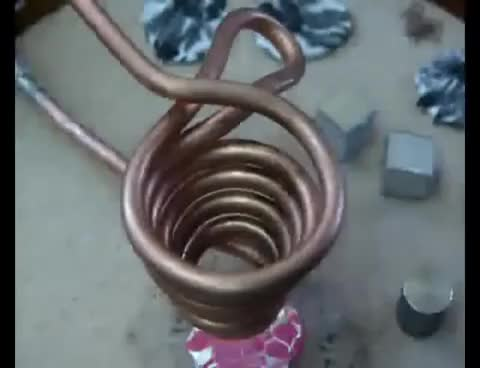 Watch and share Levitation Coil - Induction Heating GIFs on Gfycat