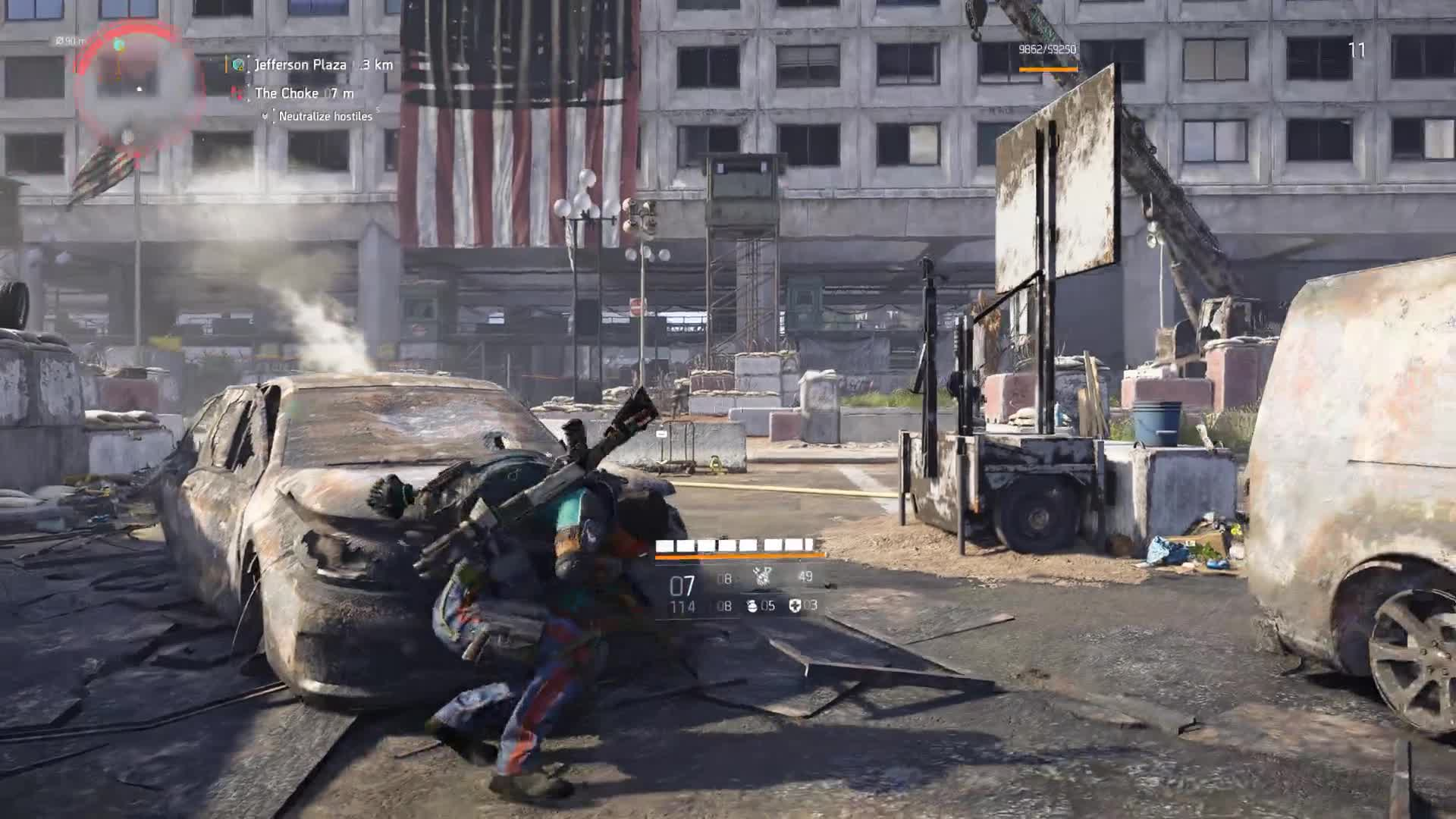 DJXyanyde, division 2, division2, loot, snipe, the division 2, tom clancy, [Division 2] Hunting Rifle Snipe GIFs