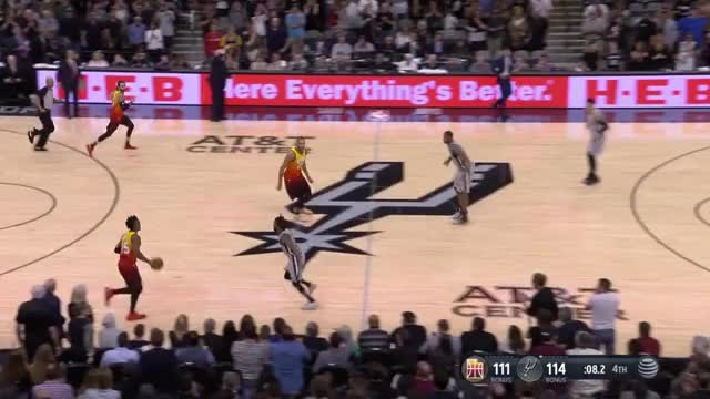 Watch and share Mitchell_Spurs End Of Q4 GIFs by Ben Mallis on Gfycat