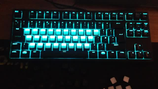 Watch and share Masterkeys Pro S W/ Some Blank Translucent Key Caps I Tried Making (reddit) GIFs on Gfycat