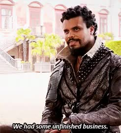 Watch howard charles GIF on Gfycat. Discover more *, howard charles, it's good to have you back :3, musketeersedit, the musketeers, tm: bts, tm: interview gif, tm: s2, type: gif GIFs on Gfycat