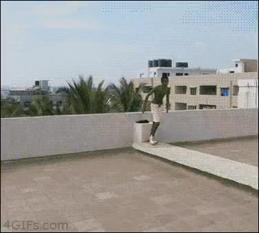 Watch Man jumps off a 5-story building into a pool [375x338] : AdrenalinePorn GIF on Gfycat. Discover more related GIFs on Gfycat