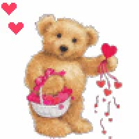 Watch and share Teddy Bear Red Gif GIFs on Gfycat