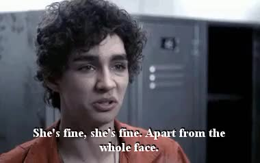 Watch and share Robert Sheehan GIFs and I Made A Gif GIFs on Gfycat