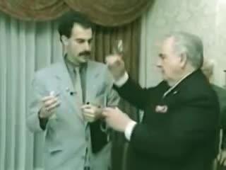 alcohol, borat, celebs, chug, drinking, i win, sacha baron cohen, wine, wine tasting, Borat wine chug GIFs