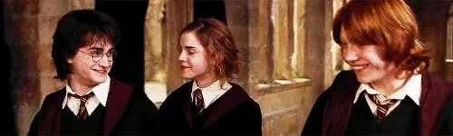 Watch this trending GIF on Gfycat. Discover more aniamted gif, animation, books, daniel radcliffe, dh2, emma watson, harry potter, harry potter edit, harry potters movies, harry ron and hermione, hermione granger, hogwarts, hogwarts school of witchcraft and wizardry, hp, hpdh, hpedit, hpps, j.k. rowling, miss granger, movies, poa, ron weasley, ruppert grint, the golden trio GIFs on Gfycat