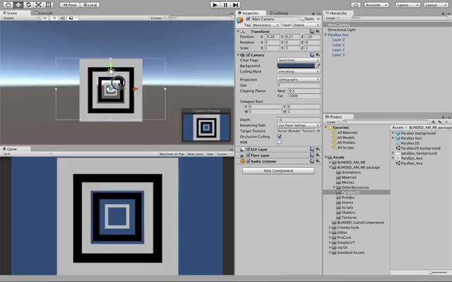 Watch Unity - Parallax 2D with layers GIF on Gfycat. Discover more 2D, Parallax, Unity, Unity3d GIFs on Gfycat