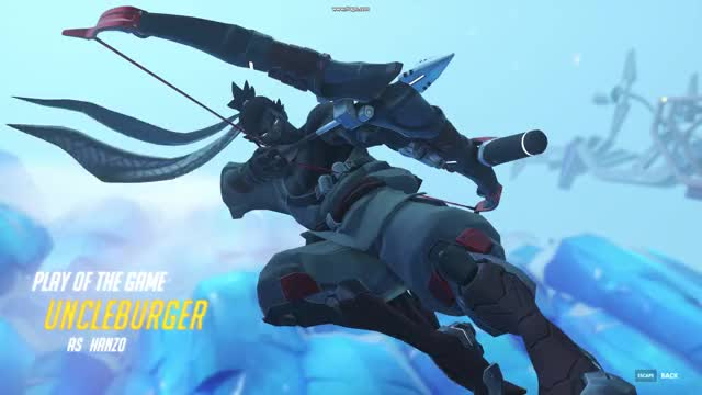 Watch Hanzo POTG GIF on Gfycat. Discover more related GIFs on Gfycat