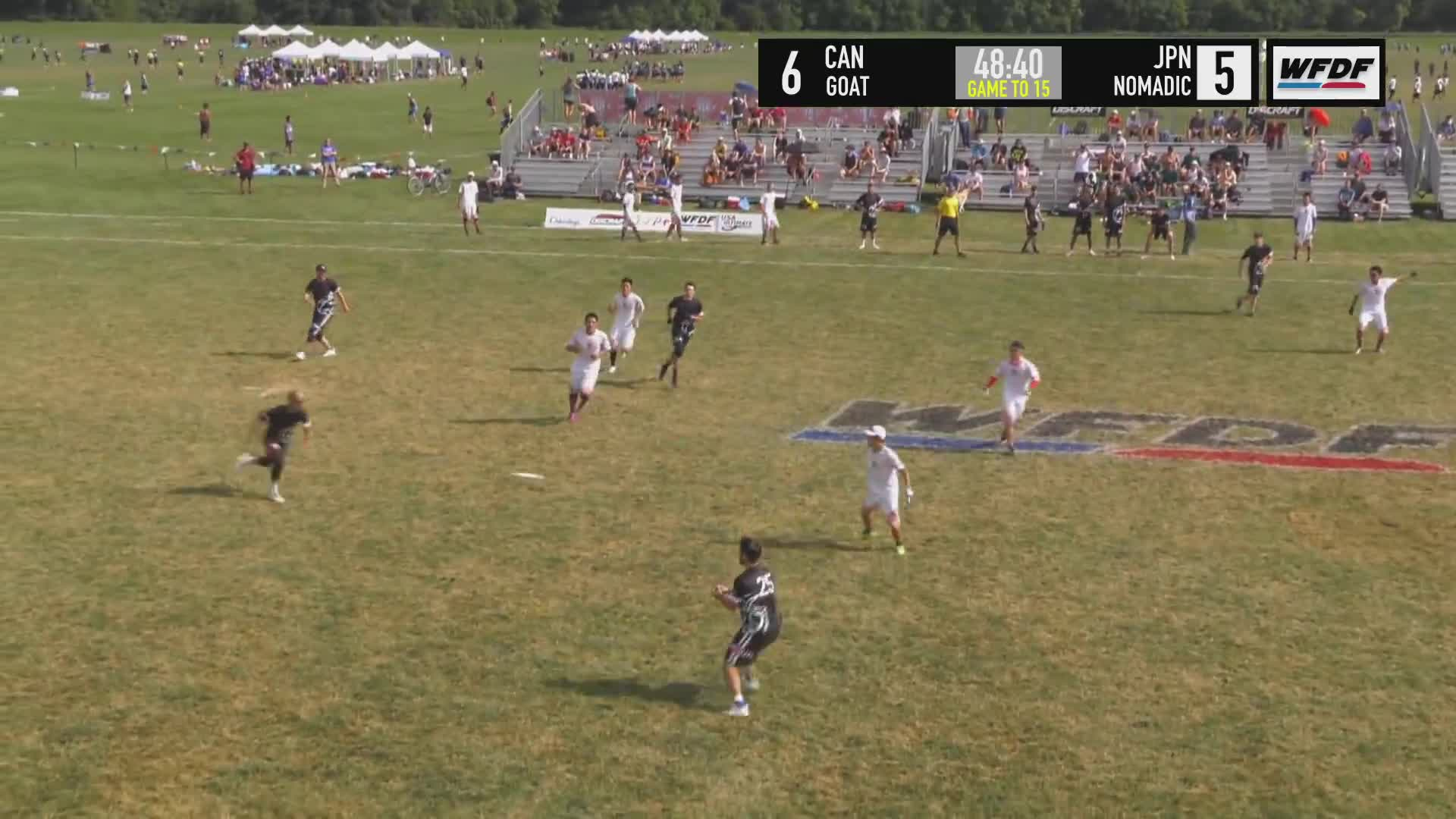 Sports, Ultimate Frisbee, World Flying Disc Federation, WUCC 2018 - GOAT (CAN) vs Nomadic Tribe (JPN) GIFs