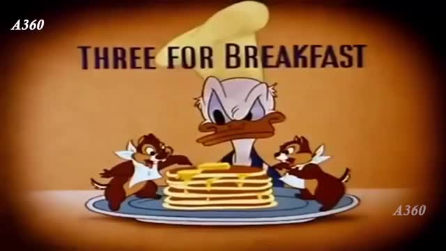 Watch and share Donald Duck Three For Breakfast Donald Duck Cartoon GIFs on Gfycat