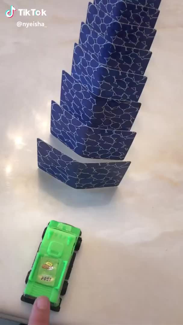 Watch and share This Domino With Cards GIFs by RazOrbb on Gfycat