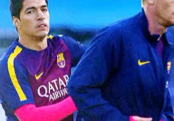 Watch These two GIF on Gfycat. Discover more Luis Suarez, barca, jr, leo, love, luis, messi, msn, neymar, neymar jr, njr, suarez GIFs on Gfycat