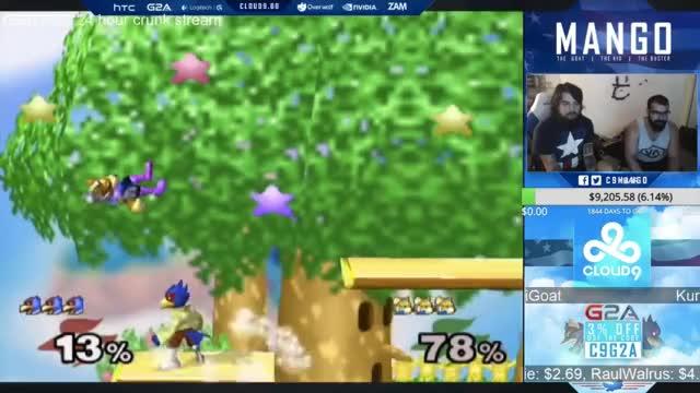 PPMD vs Westballz vs Mang0 - A Falco Combo Video