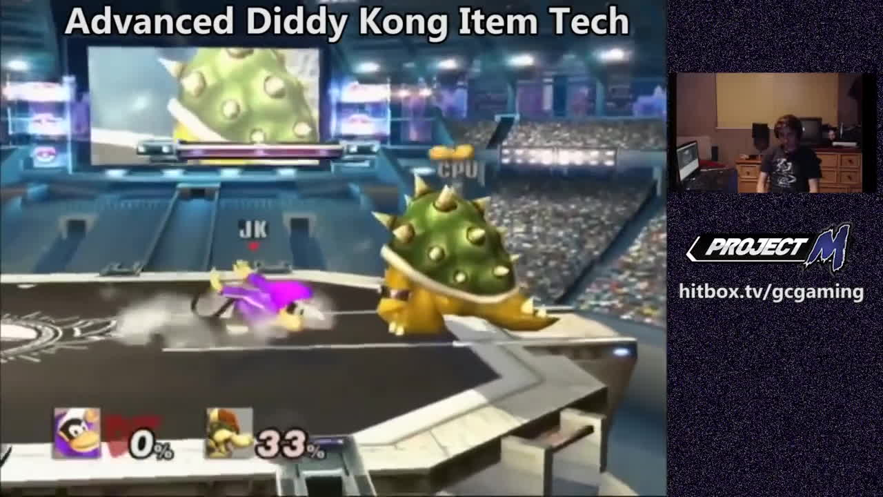 diddy kong, project m, super smash bros, Peanut AGT GIFs