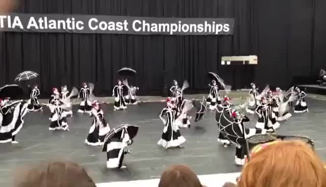 Watch and share Color Guard GIFs on Gfycat