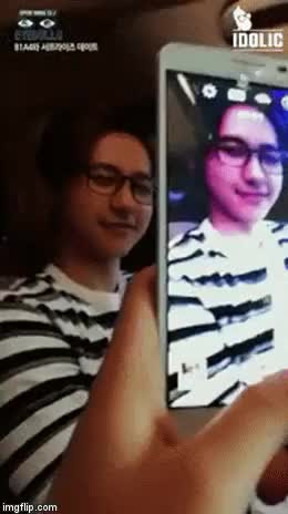 Imagine going on a date with CNU and he warms your hands for