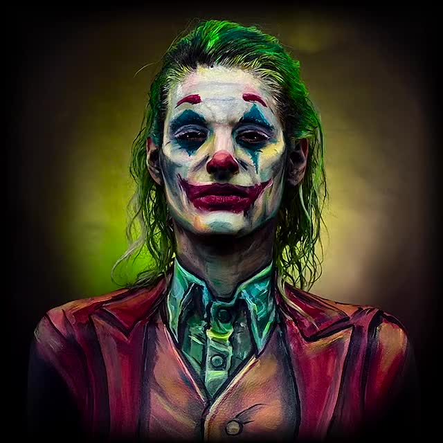 Watch and share Joker 2019 GIFs and Bodypaint GIFs on Gfycat