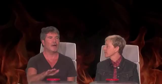 Watch this curated GIF by GIF Queen (@ioanna) on Gfycat. Discover more burning, cowell, degeneres, disappoint, disappointed, ellen, fuck, god, my, no, oh, omg, play, questions, seriously, shit, simon, swear GIFs on Gfycat