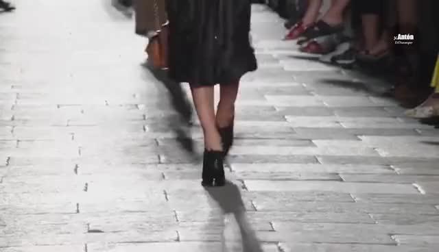 Watch and share Irina Shayk GIFs and Runway GIFs on Gfycat