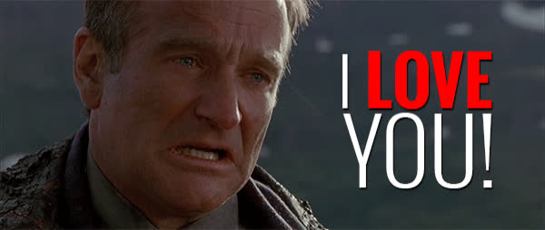 i love you, love you, robin williams,  GIFs