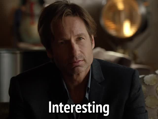 Watch and share David Duchovny GIFs and Interesting GIFs by MikeyMo on Gfycat