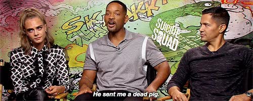 Watch and share Will Smith GIFs and Dccomics GIFs by Reactions on Gfycat