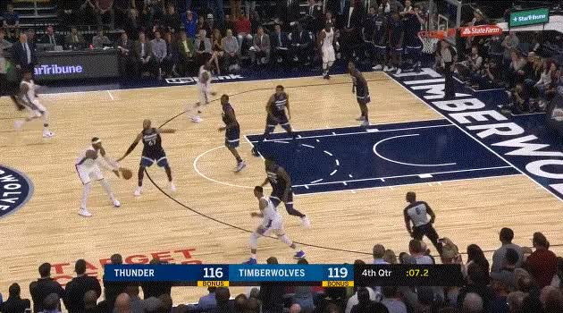 Watch and share Anthony Miss Against TWolves GIFs by ajohnnapier on Gfycat