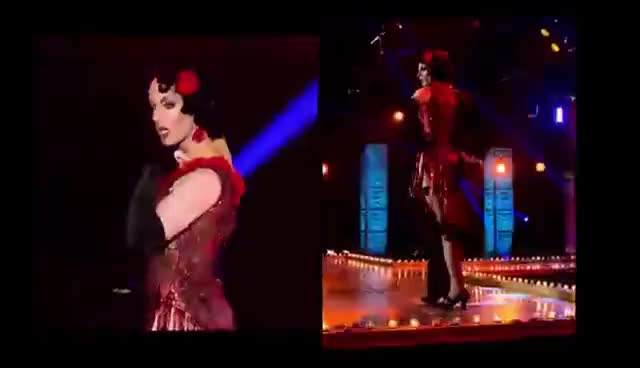 Watch and share RuPaul's Drag Race | Sissy That Walk: Prancing Queens | Season 7 GIFs on Gfycat