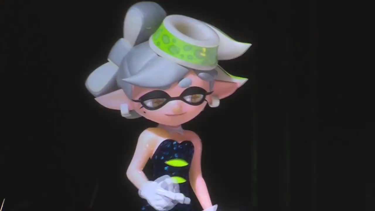 2016, Action, Adventure, Game, GamePlay, Japan, Squid, comedy, concert, crowd, expo, fun, funny, japanese, kids, music, paris, play, rpg, splatoon, Splatoon - Squid Sisters Concert at Japan Expo 2016 GIFs