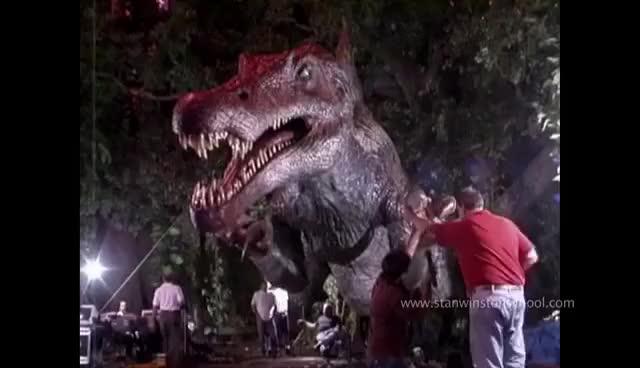 Watch Animatronic Spinosaurus Arm Contraption GIF on Gfycat. Discover more animatronics GIFs on Gfycat