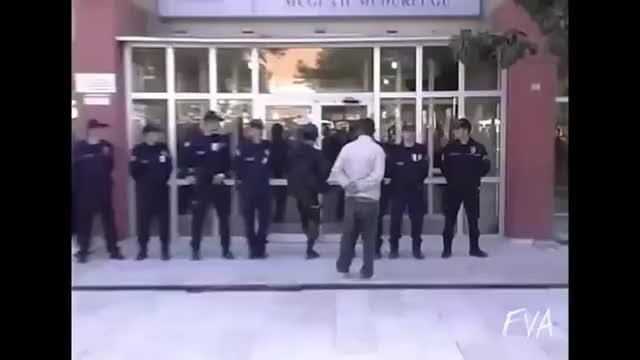 Watch and share Keystone Cop Kicks Door GIFs on Gfycat