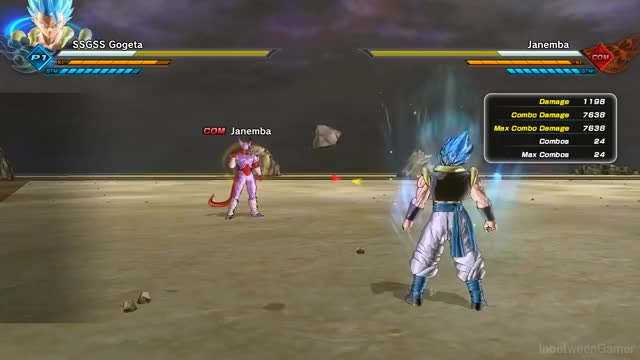 Watch and share DBXV2: Gogeta Blue God Punisher GIFs by shadowmine1234 on Gfycat