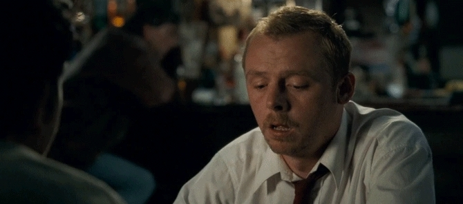gfycatdepot, nah, naw, no, no way, nope, shaunofthedead, simon pegg, No GIFs