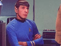 Watch this not amused GIF by Reaction GIFs (@sypher0115) on Gfycat. Discover more Leonard Nimoy, bored, notamused, uninterested GIFs on Gfycat