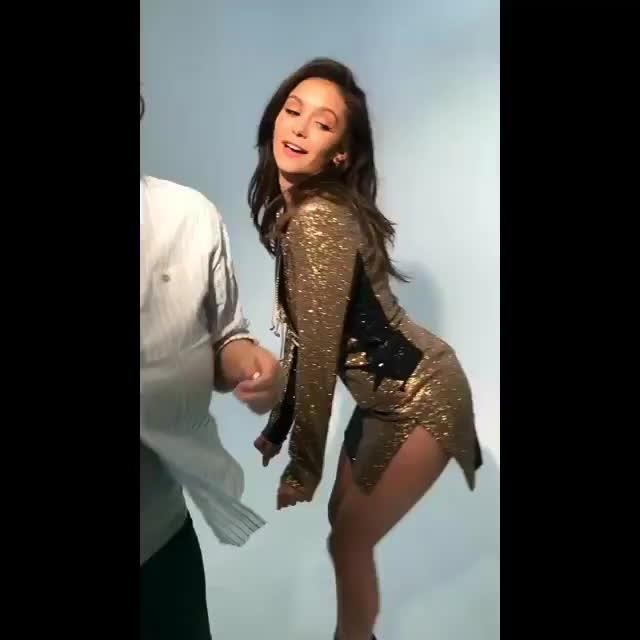 NinaDobrev, dancing, nina dobrev, Video by ninadobrev GIFs