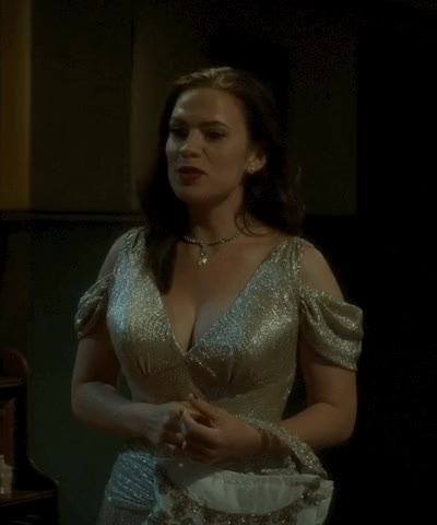 Watch and share Hayley Atwell GIFs and Peggy Carter GIFs by Santa on Gfycat