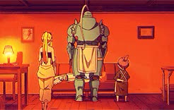 Watch the thing that makes you extraordinary GIF on Gfycat. Discover more alphonse elric, edward elric, fma:b, fmaedit, fmaweek15, winry rockbell, ~ GIFs on Gfycat