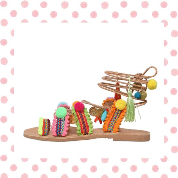 Watch and share Summer Must-Have: Pom Pom Sandals - Style Vanity GIFs on Gfycat