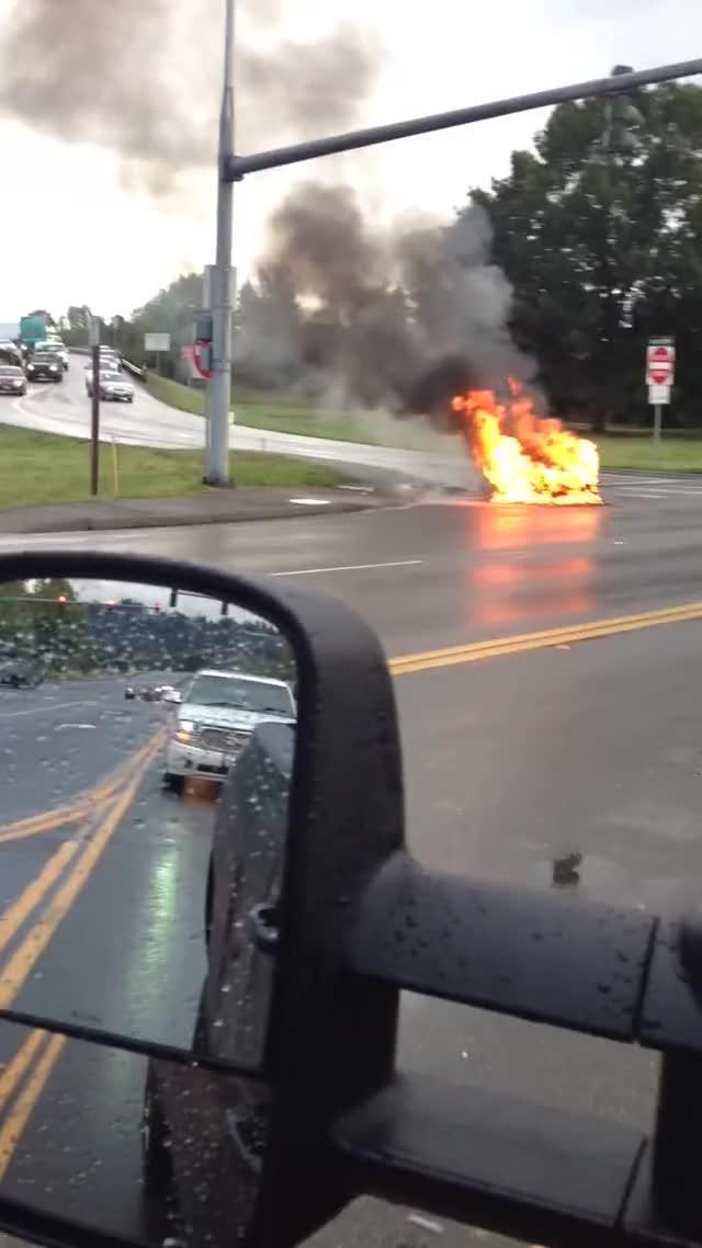 Watch Tesla car on fire GIF on Gfycat. Discover more car, gifs, tesla car GIFs on Gfycat